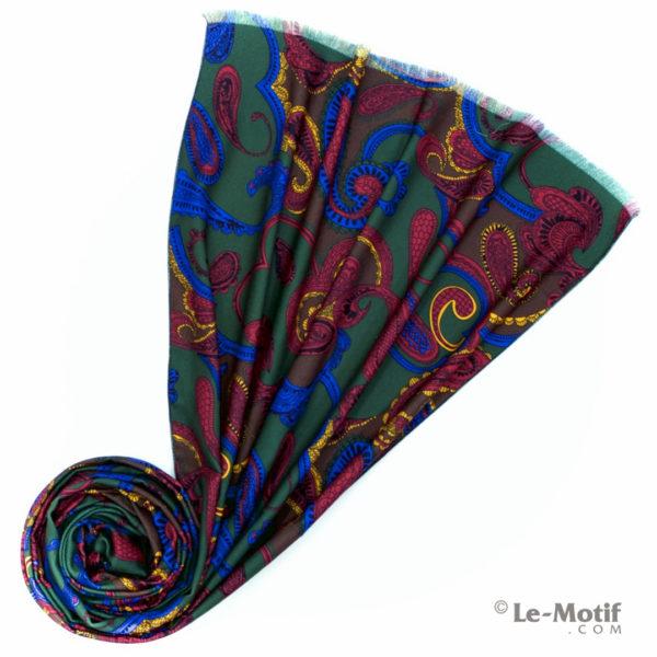 Шарф Le Motif из шерсти и хлопка. Фото для каталога 2, LS251-1