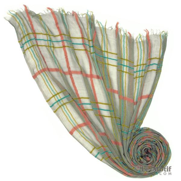 Платок Le Motif из шерсти и модала. Фото для каталога, арт. ZG01-10