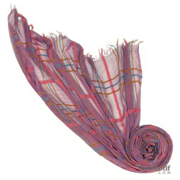 Платок Le Motif из шерсти и модала. Фото для каталога, арт. ZG01-6