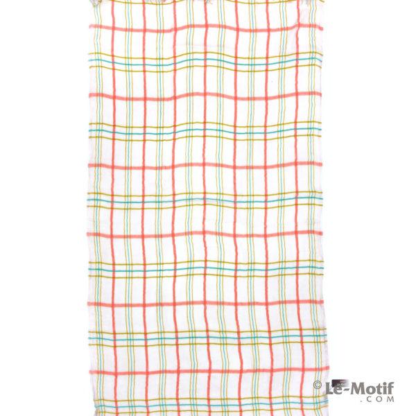 Платок Le Motif из шерсти и модала. Цвет - розовый, арт. ZG01-8