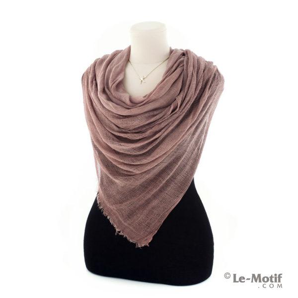 Палантин Le Motif из хлопка и модала. Как красиво завязать.