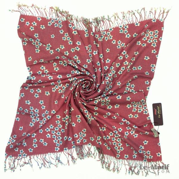 Платок Le Motif из шерсти и хлопка. Фото для каталога 2, 15GF402