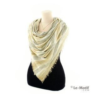 Шарф Le Motif из шерсти и хлопка на шее, арт. STD01-10